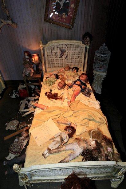 La peur au ventre dans le manoir de l 39 horreur expo - La maison hantee paris ...