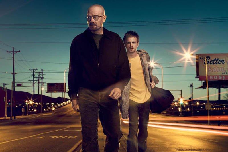 Image de la série à succès américaine Breaking... (Photo fournie par AMC)