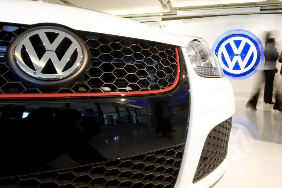 Sur son marché domestique, l'Allemagne, Volkswagen cependant a... (PHOTO LARRY DOWNING, ARCHIVES REUTERS)
