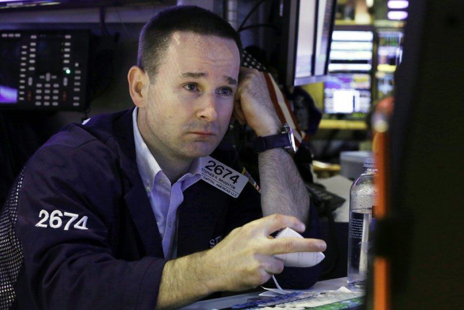Fragilisée par l'incertitude sur la... (Photo Richard Drew, Associated Press)