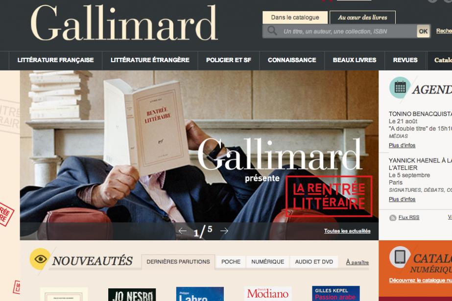Gallimard, troisième éditeur en importance de la francophonie, aura sa division...