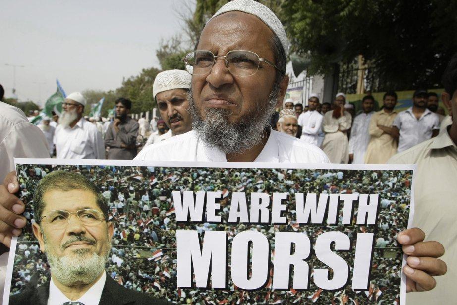 Au Pakistan, géant musulman non arabe de 180... (PHOTO FAREED KHAN, AP)