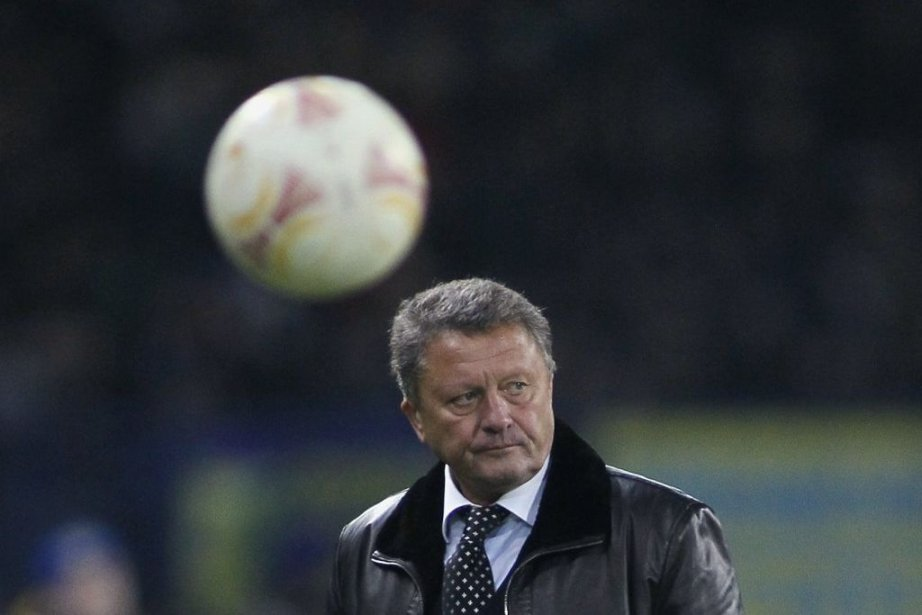 L'entraîneur du Metalist KharkivMyron Markevich.... (Photo Gleb Garanich, Reuters)