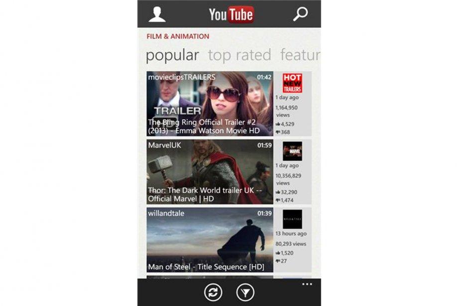 Google bloque délibérément l'accès à ses vidéos sur... (PHOTO FOURNIE PAR YOUTUBE)