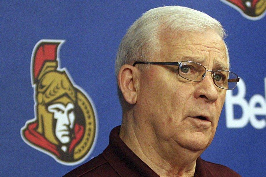 Le directeur général des Sénateurs d'Ottawa, Bryan Murray.... (Photo Étienne Ranger, Archives LeDroit)