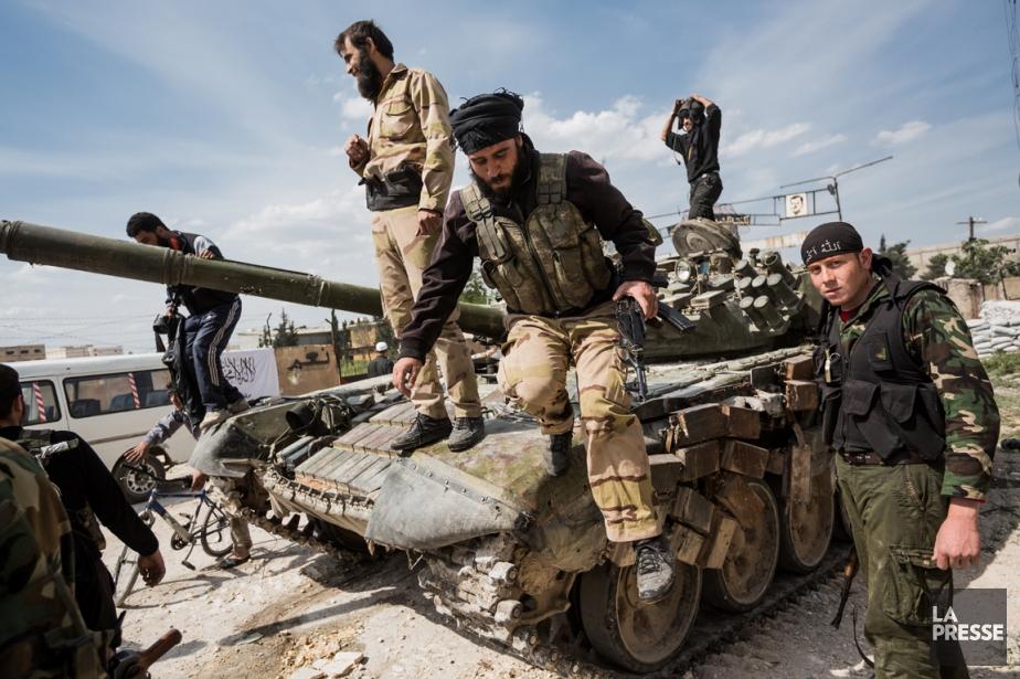 Des combats violents se déroulent à Alep depuis... (PHOTO EDOUARD PLANTE-FRÉCHETTE, ARCHIVES LA PRESSE)
