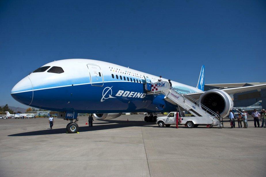 Le 787 fait l'objet de nombreux problèmes techniques... (Photo CLAUDIO SANTANA, AFP)