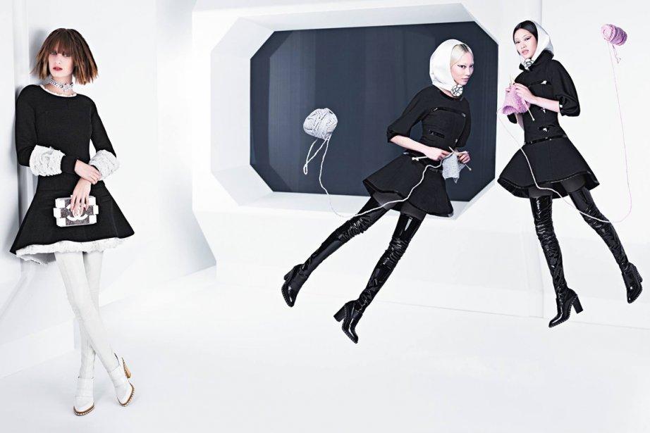 Karl Lagerfeld a réalisé la campagne Automne-Hiver 2013-2014... (Photo fournie par Chanel)