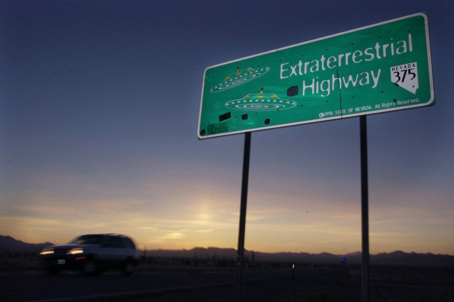 La ET Highway, qui borde la Zone 51,... (Photo Laura Rauch, AP)