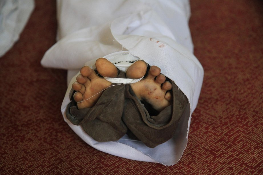 Au moins 82 personnes ont été tuées vendredi... (Photo Ahmed Gomaa, AP)