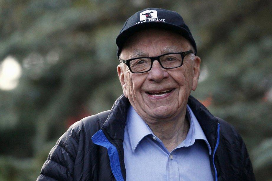 Le magnat des médias Rupert Murdoch, photographié en... (PHOTO Rick Wilking, REUTERS)