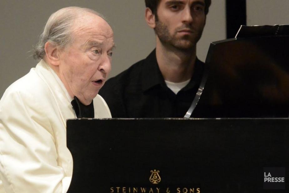 Le pianiste Menahem Pressler.... (PHOTO BERNARD BRAULT, LA PRESSE)