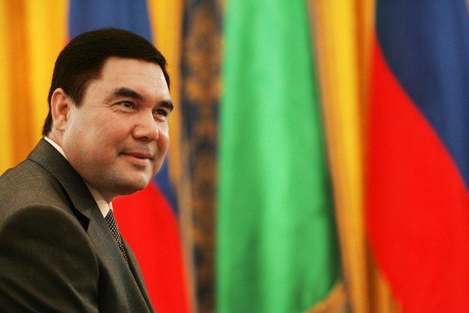 Gourbangouly Berdymoukhamedovest arrivé à la présidence turkmènE en... (Photo archives AFP)