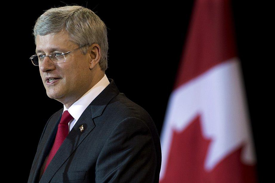 Stephen Harper, premier ministre du Canada.... (PHOTO Andrew Vaughan, ARCHIVES LA PRESSE CANADIENNE)