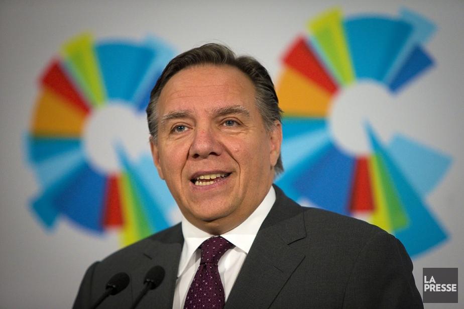 François Legault, chef de la Coalition Avenir Québec... (ARCHIVES, La Presse)