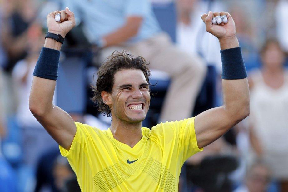 Rafael Nadal continue sur sa lancée après avoir... (Photo John Sommers II, Reuters)