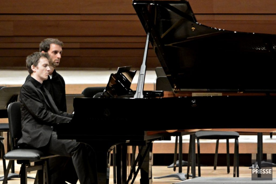 Lepianiste Alexandre Tharaud.... (PHOTO BERNARD BRAULT, LA PRESSE)