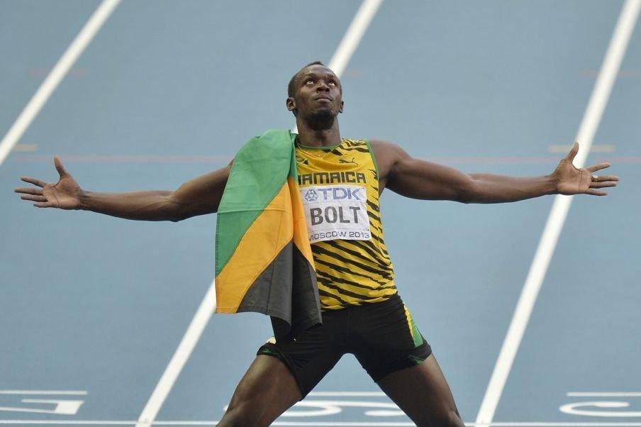 Bolt est devenu l'athlète le plus médaillé de... (PHOTO MARTIN MEISSNER, AP)