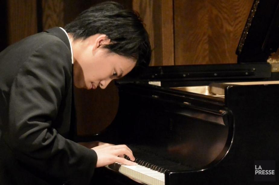 Le pianisteKit Armstrong.... (PHOTO BERNARD BRAULT, LA PRESSE)