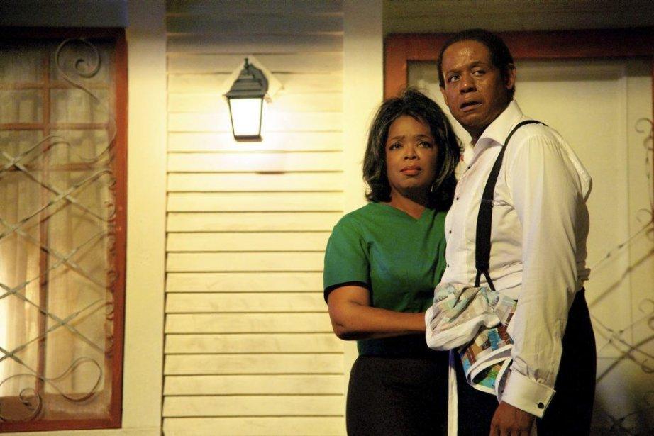 Forest Whitaker etOprah Winfrey dans une scène deLee... (PHOTO AP)