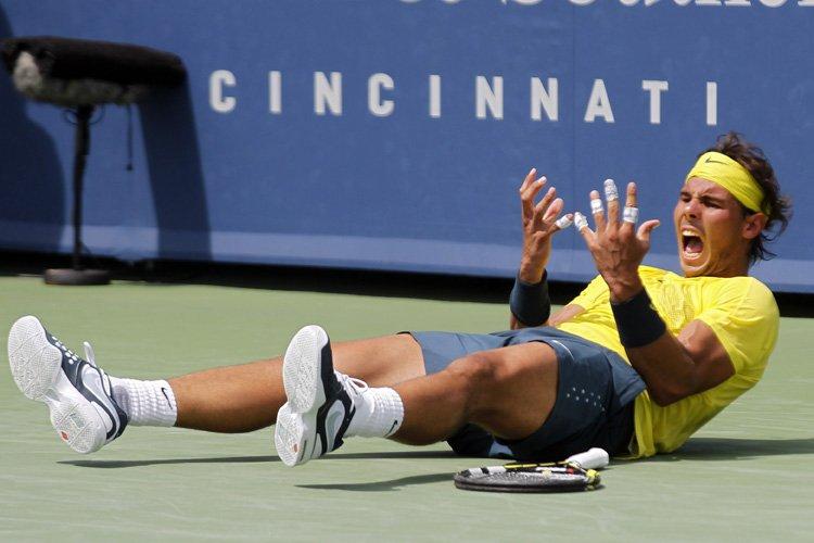 Rafael Nadala remporté son 9e titre de la... (Photo: Reuters)