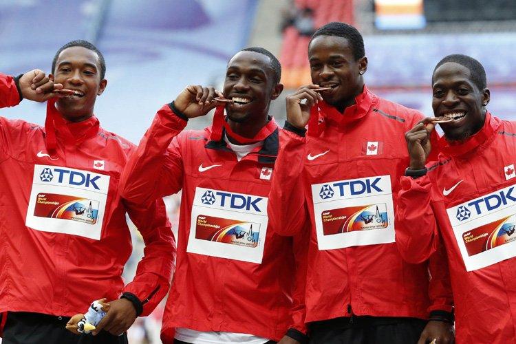 De gauche à droite, Dontae Richards-Kwok, Gavin Smellie,... (Photo: Reuters)