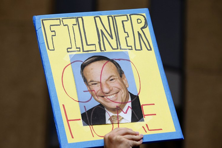 Une campagne visant à destituer le controversé maire de San... (Photo: Reuters)