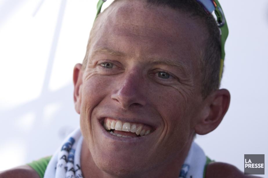 L'Australien Luke Bell affichait un large sourire après... (Photo Simon Giroux, La Presse)
