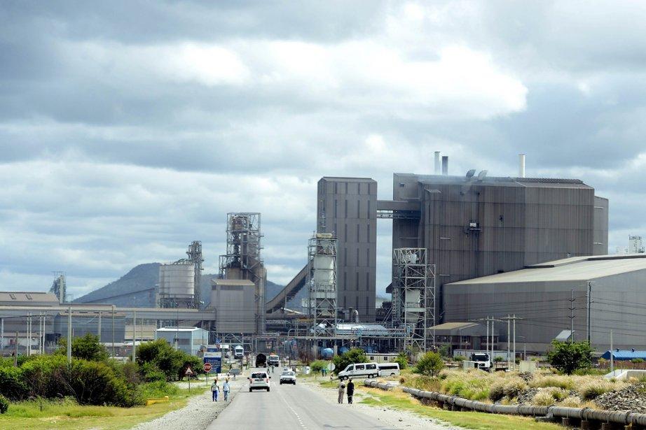 La mine de Rustenburg, au nord-ouest de Johannesburg.... (PHOTO STEPHANE DE SAKUTIN, AFP)