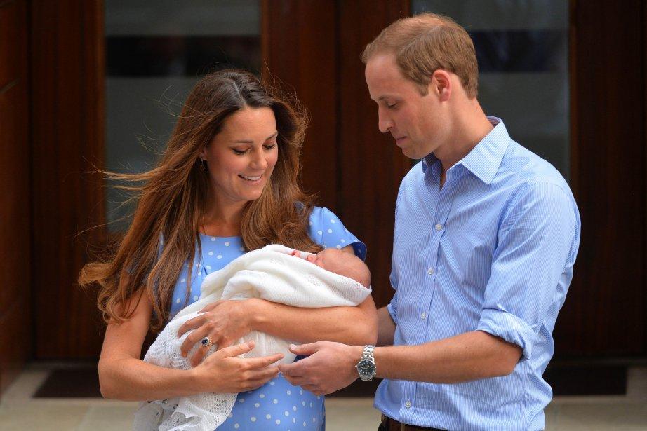 Le nouveau-né est «un petit bagarreur. Il gigote... (Photo LEON NEAL, AFP)