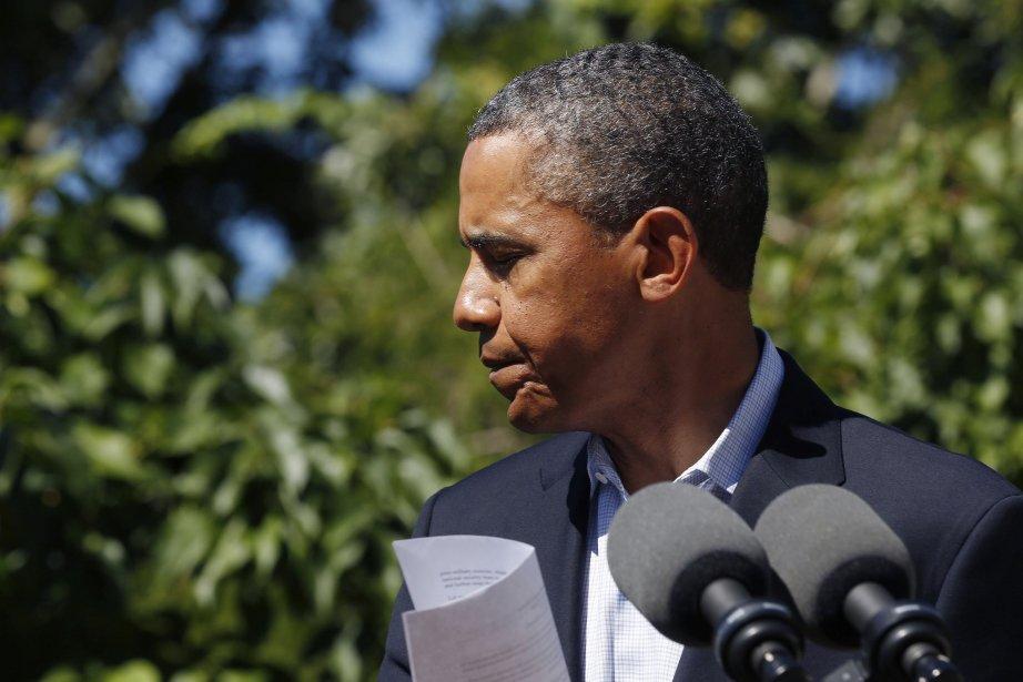 Le président Obama avait annoncé jeudi l'annulation de... (Photo LARRY DOWNING, Reuters)