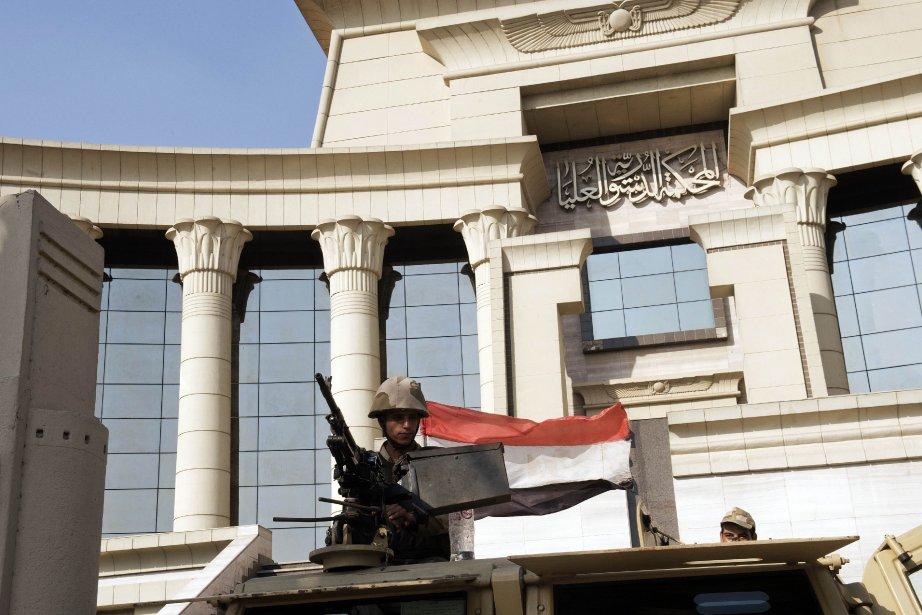 L'Égypte est «sur la bonne voie», a estimé lundi à... (Photo KHALED DESOUKI, AFP)