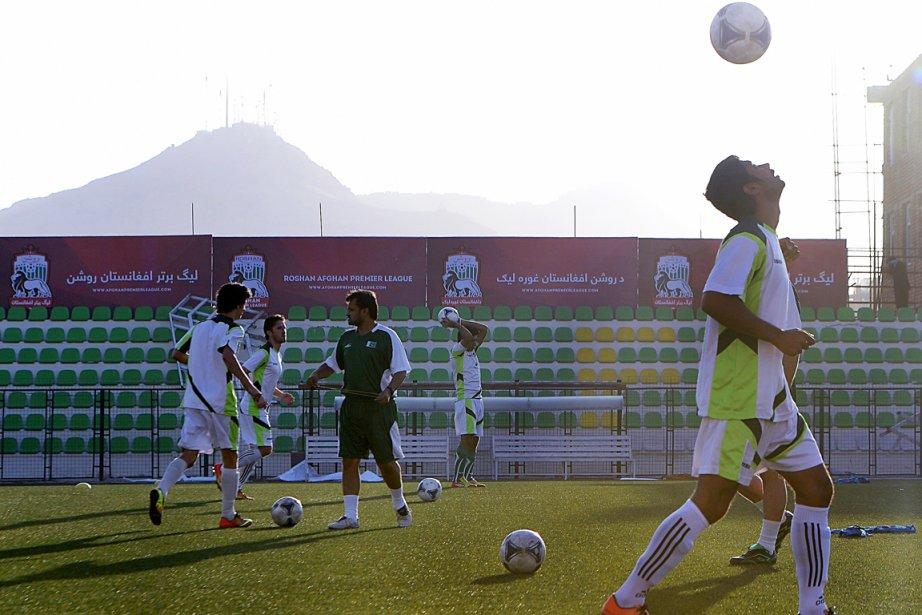 Le match au stade de Kaboul suscite un... (PHOTO SHAH MARAI, AFP)