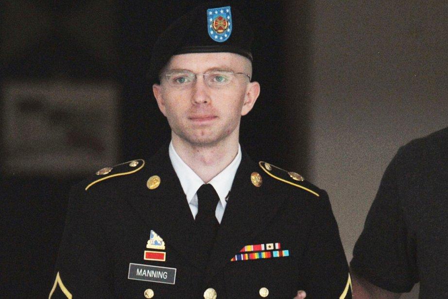La taupe de WikiLeaks Bradlety Manning pourrait écoper... (PHOTO MANDEL NGAN, AFP)