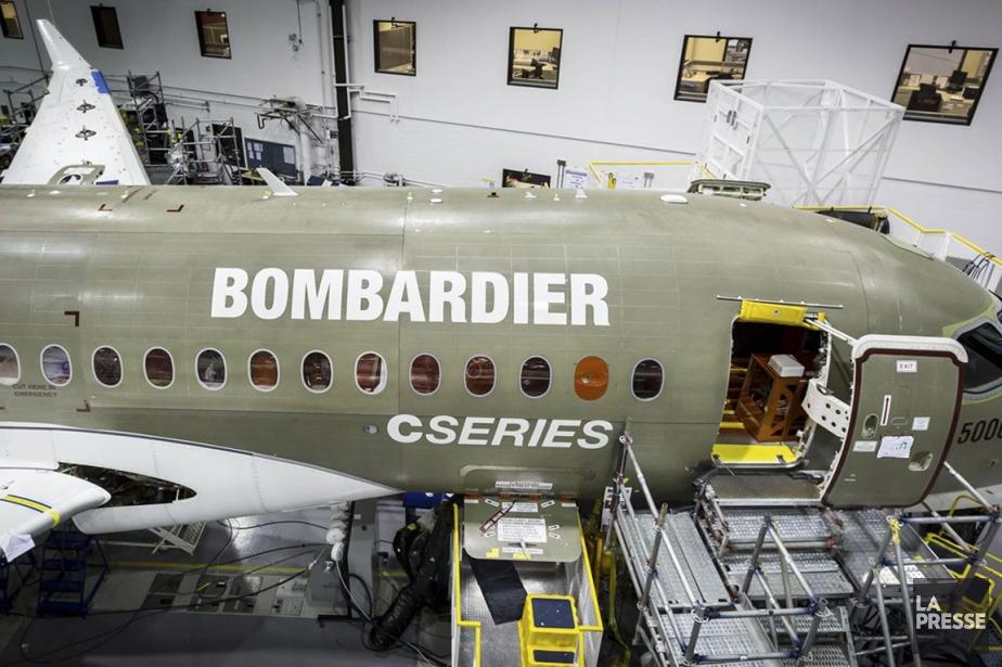 Bombardiera enregistré des commandes et engagements touchant 388... (PHOTO FOURNIE PAR BOMBARDIER)