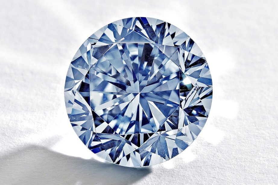 """""""The Premier Blue"""" sera mis aux enchères le... (Photo fournie par Sotheby's (AFP))"""