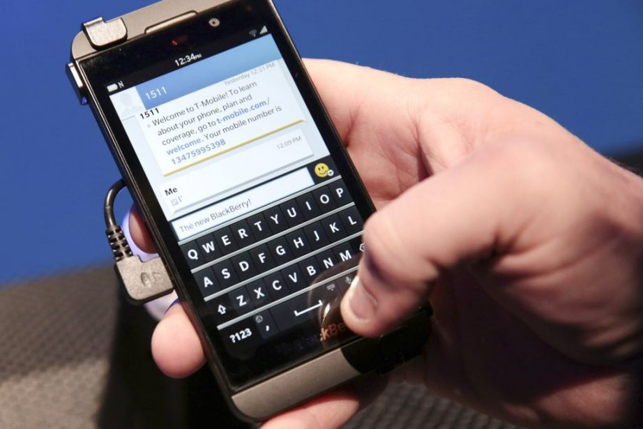 Le BlackBerry Z10.... (PHOTO MARCUS YAM, THE NEW YORK TIMES)