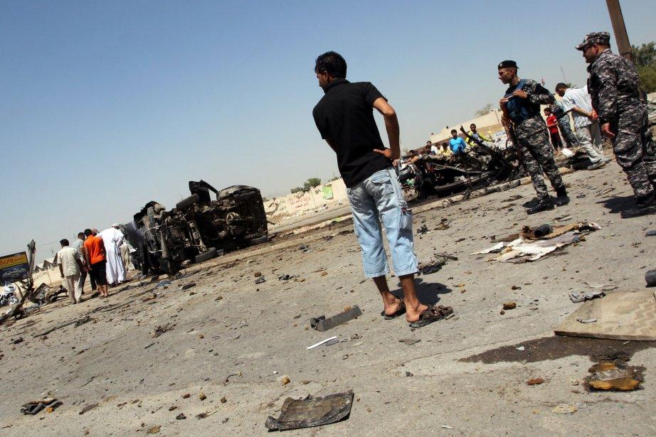 Il s'agit dela pire vague de violences depuis... (Photo ALI AL-SAADI, AFP)