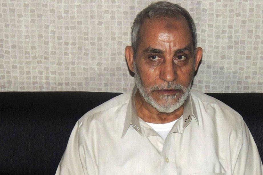 Mohamed Badie, le Guide suprême des Frères musulmans,... (PHOTO REUTERS)
