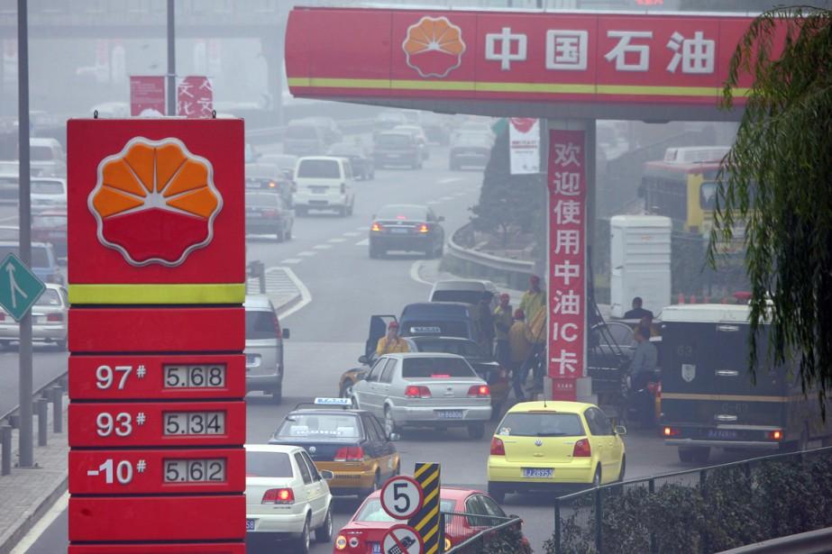 Selon une étude,la facture des importations pétrolières chinoises... (Photo archives AFP)