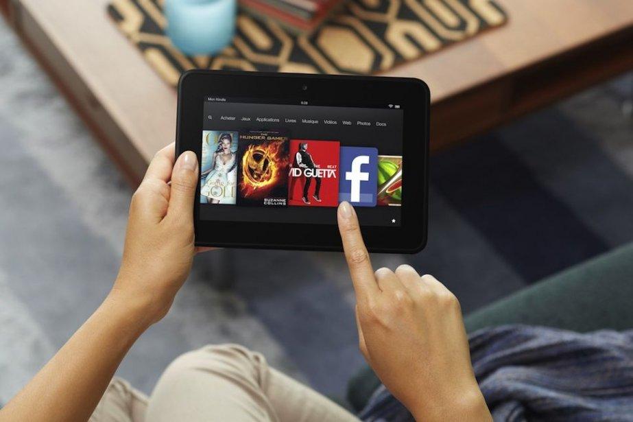 Le Kindle Fire HD propose actuellement un écran... (Photo Amazon)