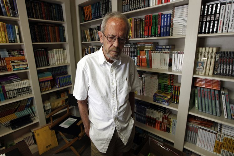 Elmore Leonard, qu'on voit ici dans sa résidence... (Photo: AP)