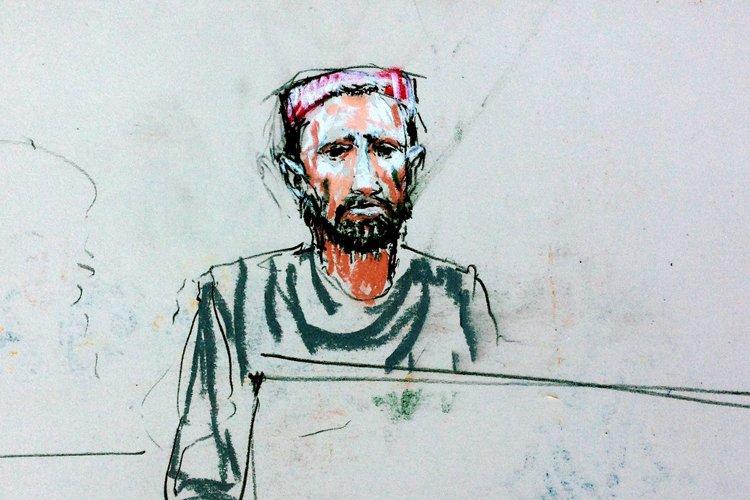 Le témoin Faizullahfaisait partie des neuf victimes qui... (Photo: AP)