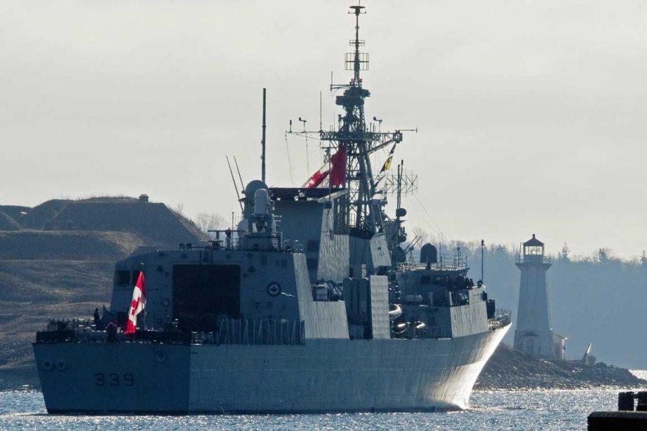 Le chantier Irving d'Halifax.... (Photo PC)