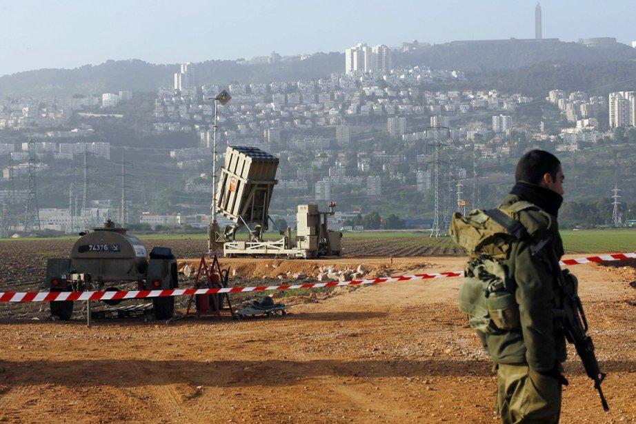 Le bouclier antimissile israélienIron Domea intercepté au moins... (PHOTO BAZ RATNER, ARCHIVES REUTERS)