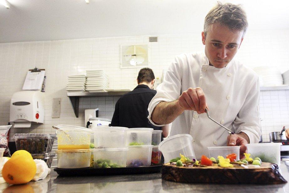 Le restaurant du chef Marc Lépine est installé... (Photo Étienne Ranger, Le Droit)