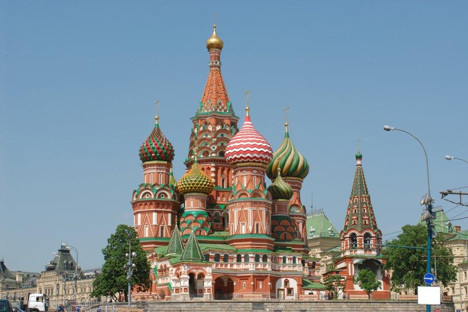Cathédrale Saint-Basile-le-Bienheureux, à Moscou.... (Photos.com)