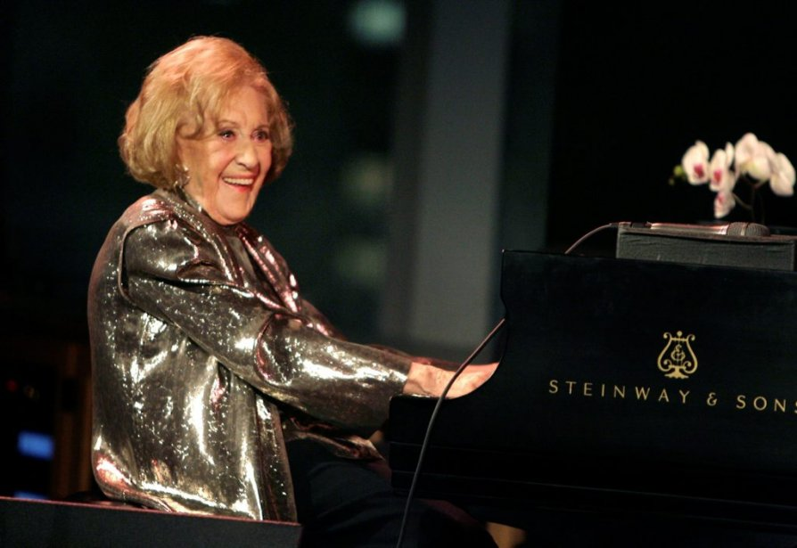 Marian McPartlland au piano à l'occasion de son... (Photo Seth Wenig, archives AP)