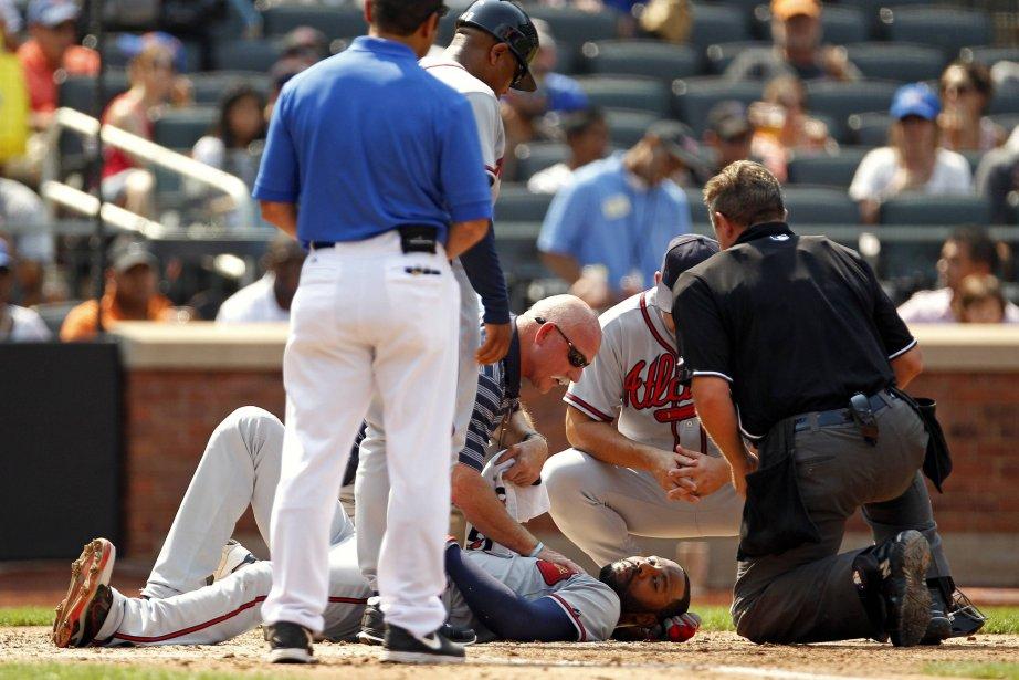 Le voltigeur des Braves d'Atlanta Jason Heyward a... (PHOTO ADAM HUNGER, REUTERS)