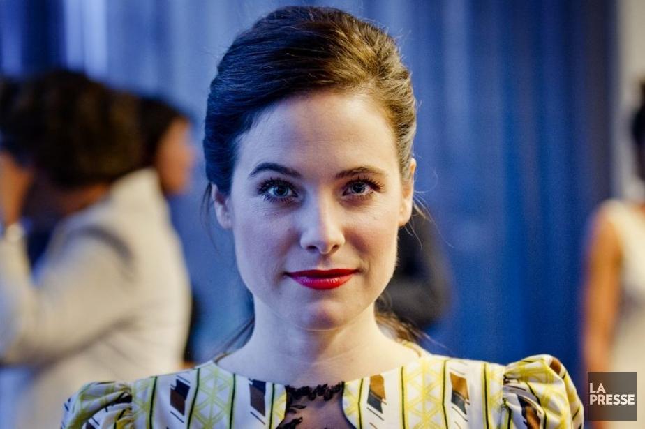Caroline Dhavernas, membre du jury, était présente pour... (Photo: Marco Campanozzi, La Presse)